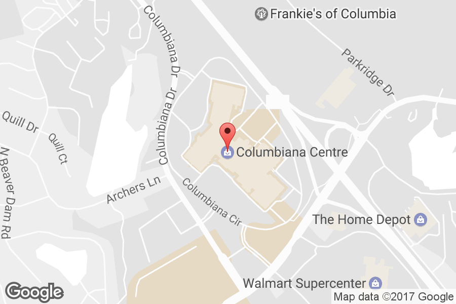 Map of Columbiana Centre - Click to view in Google Maps